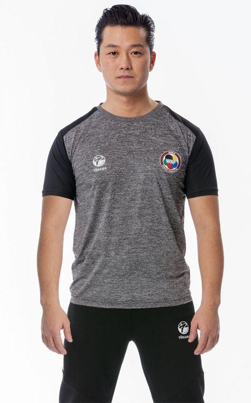 T-Shirt, TOKAIDO Team (WKF), grau
