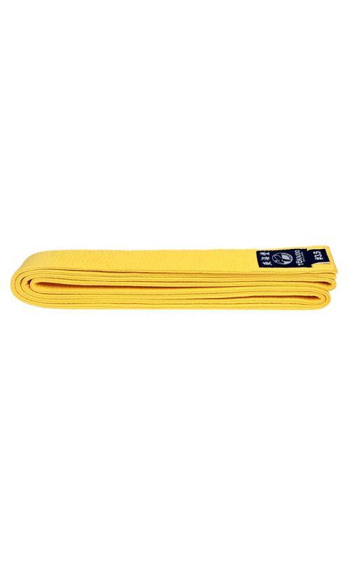 Karate Color Belt, TOKAIDO, cotton, yellow