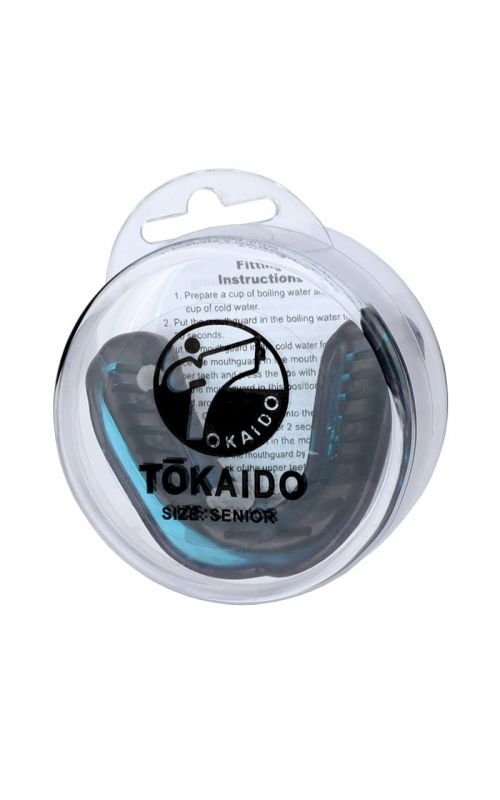 Karate Teeth Protector, TOKAIDO, with Box, black