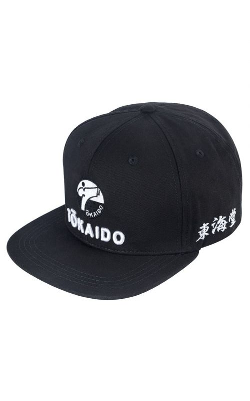 Snapback Cap, TOKAIDO, black