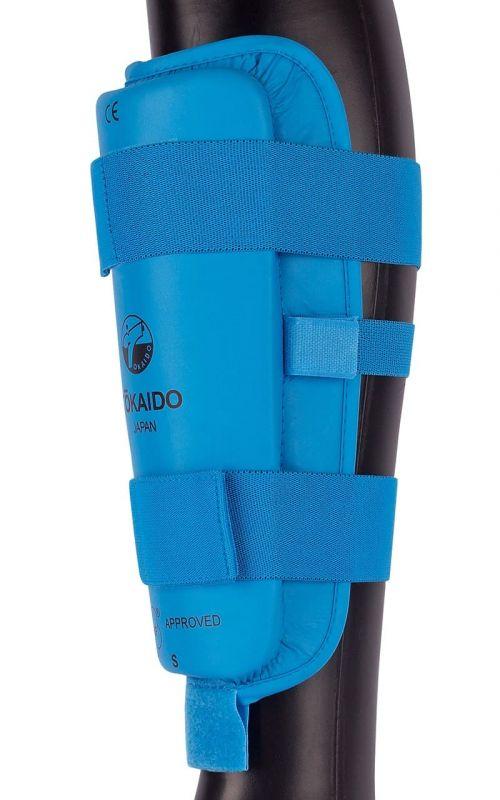 Karate Schienbeinschutz TOKAIDO, WKF, blau