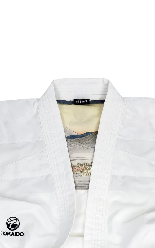 Karateanzug, TOKAIDO Kata Master Athletic, WKF, weiss