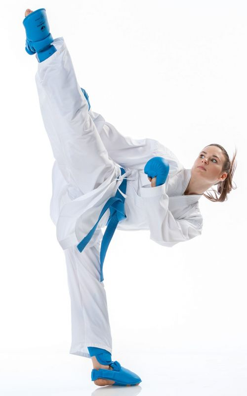 Karateanzug, TOKAIDO Kumite Master Athletic, WKF, weiss