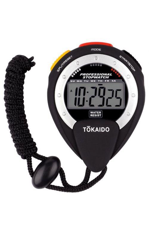 Digital Stopwatch, TOKAIDO Multi, black