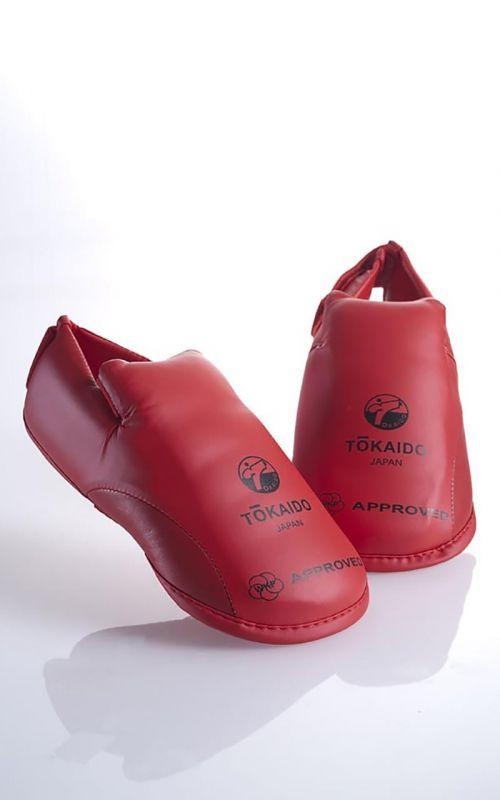 Karate Fußschutz, TOKAIDO, WKF Zulassung, rot