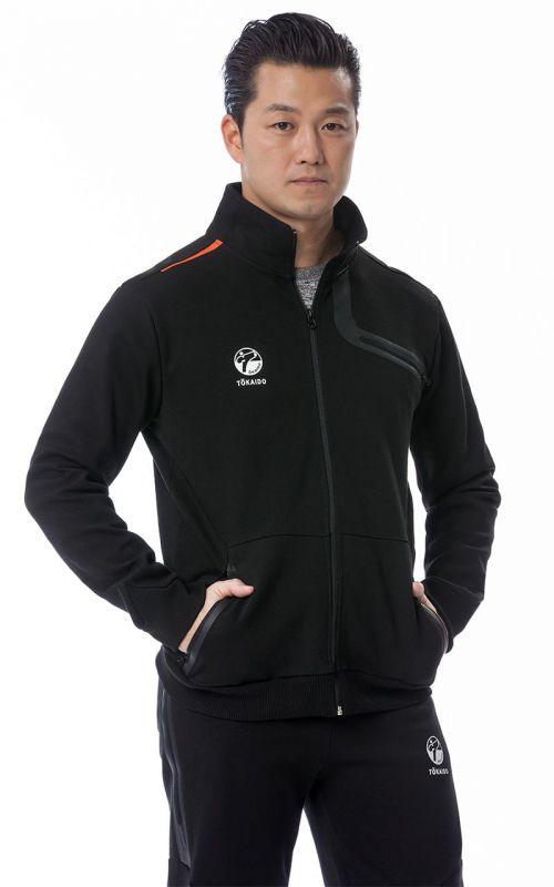Sportjacke, TOKAIDO Team Athleisure, schwarz