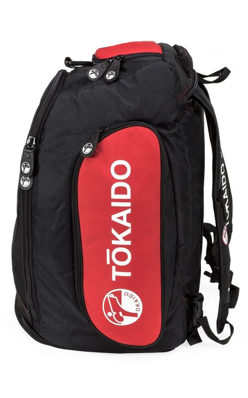 Multi-Functional sports bag, TOKAIDO Moster Bag Pro, black / red