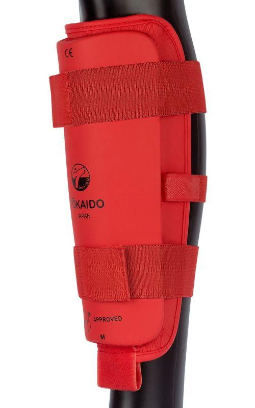 Karate Schienbeinschutz TOKAIDO, WKF, rot