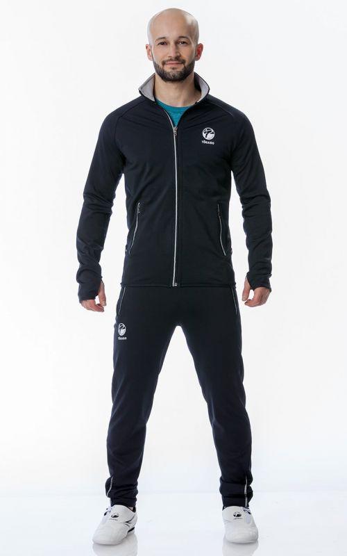 Tracksuit, TOKAIDO Team, Slim Fit, blue