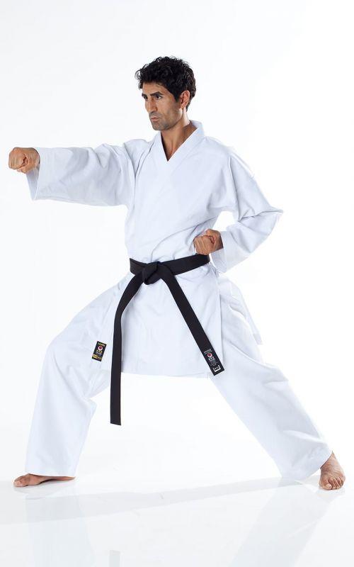 JKA Karate Gi, TOKAIDO Tsunami Gold, 14 oz., white