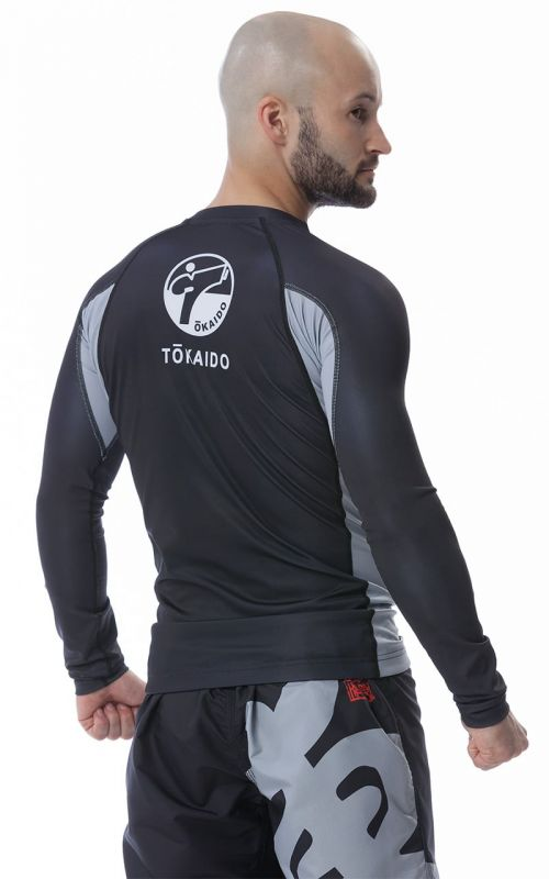 Rashguard, TOKAIDO Athletic Japan, black / grey