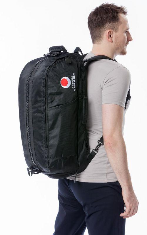 Karate Tasche, TOKAIDO Big Zip JKA, schwarz