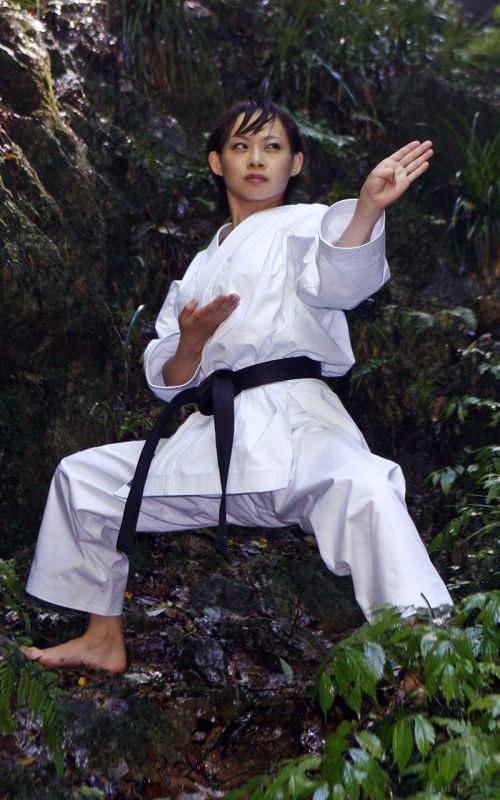 Karate Gi, TOKAIDO Yakudo, made in Japan, 12 oz., white