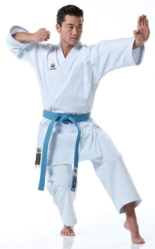 Karateanzug, TOKAIDO Kata Master Pro, made in Japan, WKF, 14 oz., weiss