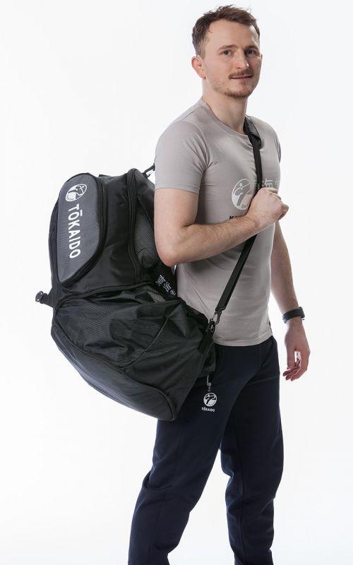 Multifunktionstasche, TOKAIDO Monster Bag, schwarz / grau