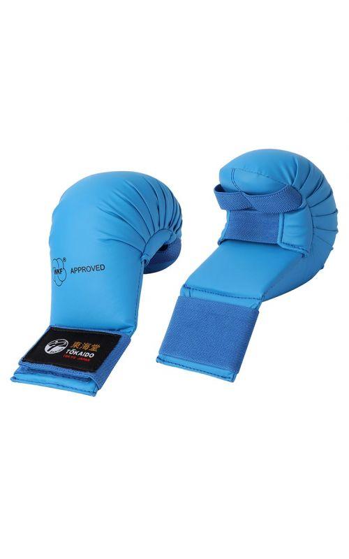 Karate Gloves, TOKAIDO Junior, WKF, blue