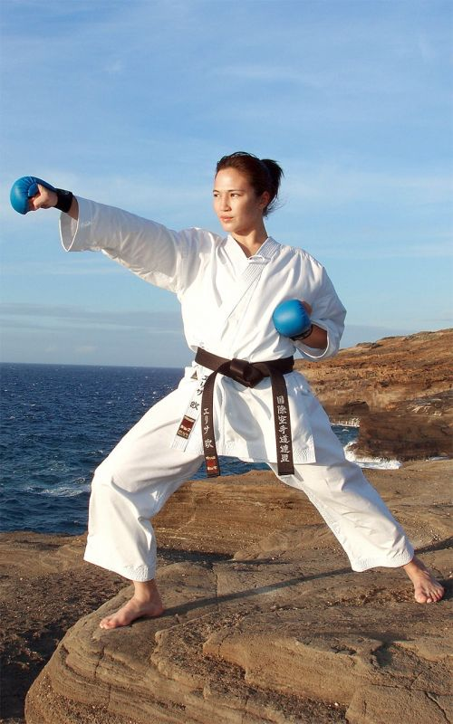 Karateanzug, TOKAIDO Hayate, made in Japan, 8 oz., weiss