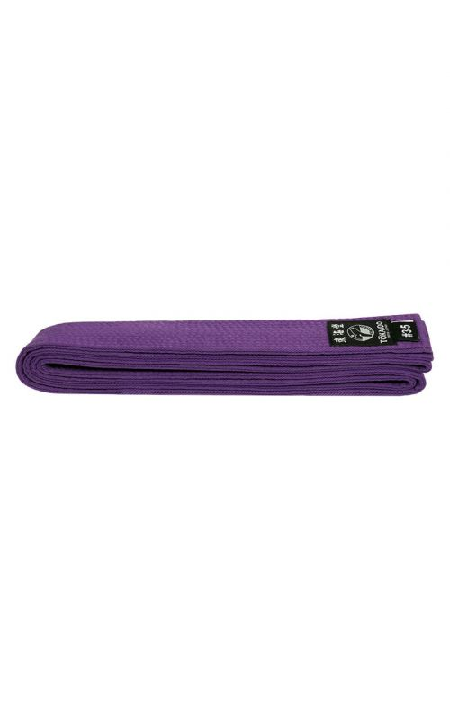 Karate Color Belt, TOKAIDO, cotton, purple