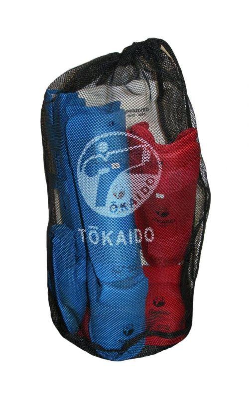 Mesh Bag für Karate Schützer, TOKAIDO, schwarz