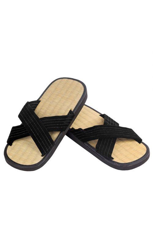 ZORI Sandals with rice straw