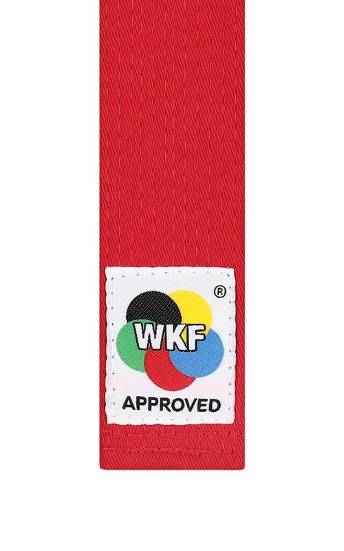 Kata Karate Belt, TOKAIDO, WKF, red