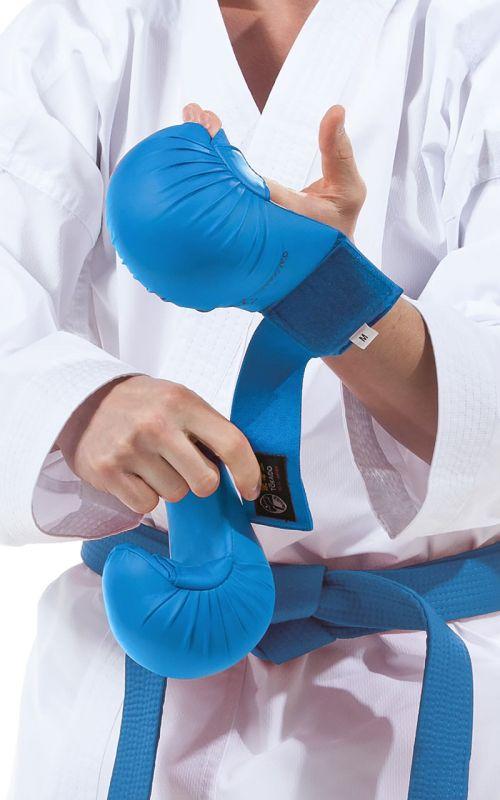 Karate Faustschützer, TOKAIDO, WKF, blau