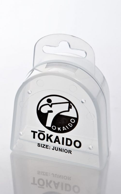 Karate Mouth Guard, TOKAIDO, transparent with Box
