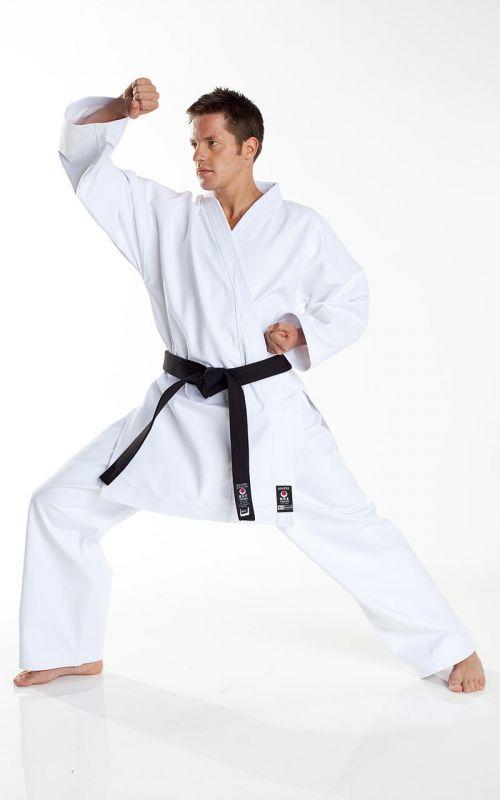 JKA Karateanzug, TOKAIDO Tsunami Silber, 12 oz., weiss