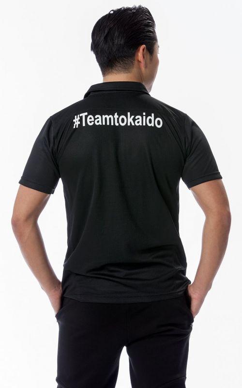 Polo Shirt, TOKAIDO Team (WKF), black