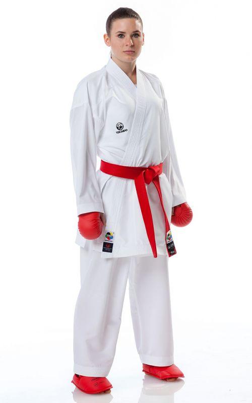 Karate Gi, TOKAIDO Kumite Master RAW, WKF, white