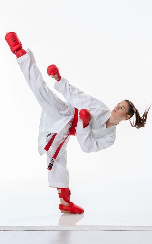 Karateanzug, TOKAIDO Kumite Master RAW, WKF, weiss